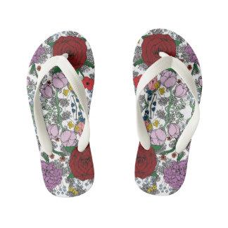 Floral Flipflops Flip Flops