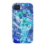 Floral_Flow Case-Mate iPhone 4 Cases
