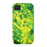 Floral_Flow Vibe iPhone 4 Covers