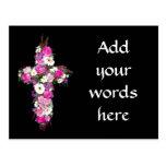 Floral/Flower Cross