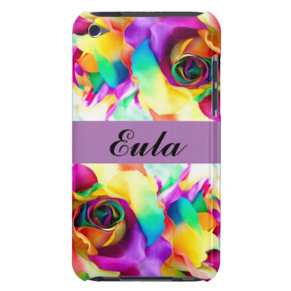 Floral Flowers Color Roses Typography Barely There iPod Cover