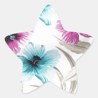 Floral Flowers Colours Art Artistic Beautiful fine Sticker