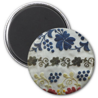 Floral Folk Art Magnet