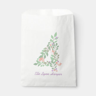 Floral Four | Fourth Birthday Bag