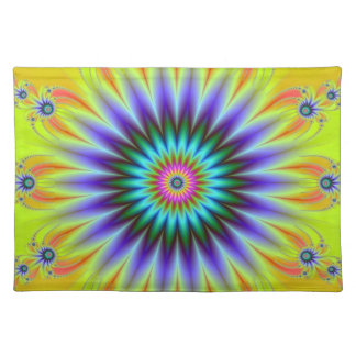 Floral Fractal American MoJo Placemats