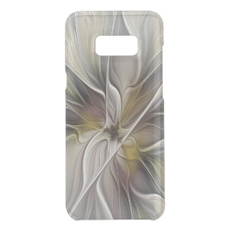 Floral Fractal, Fantasy Flower with Earth Colors Uncommon Samsung Galaxy S8 Plus Case