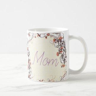 Floral Frame Mother's Day Design Coffee Mug