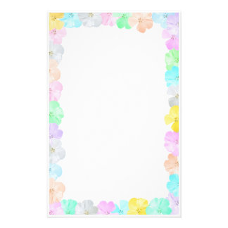 Floral Frame Personalized Stationery