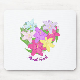 Floral Fresh Mouse Pad