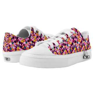 floral funky shoes