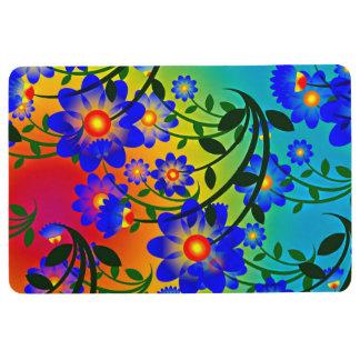 Floral Fusion Floor Mat