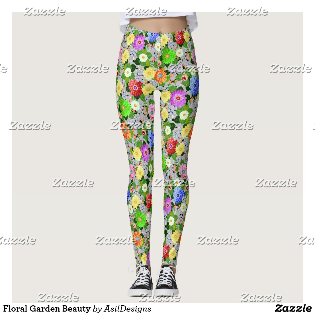 Floral Garden Beauty Leggings