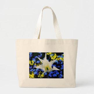 Floral Garden canvas bag