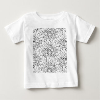 Floral Garden Doodle Baby T-Shirt