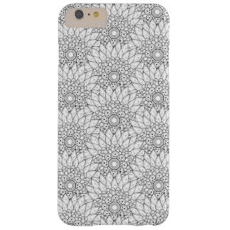 Floral Garden Doodle Barely There iPhone 6 Plus Case