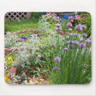Floral Garden Mouse Pad