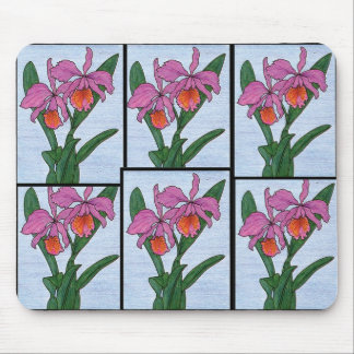 Floral Garden Mouse Pads