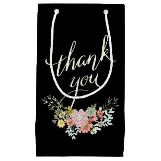 Floral Garden Wedding Thank You Favor Gift Bags