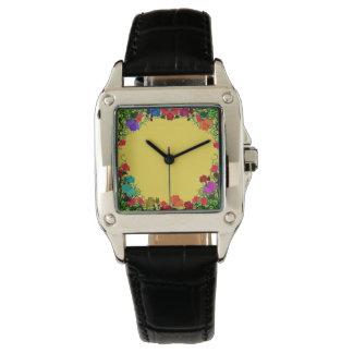 Floral Garden Woman's Watch