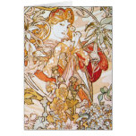 Floral Goddess Greeting Cards