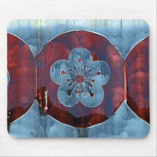 Floral Graffiti Mouse Pad