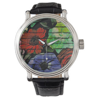 Floral Graffiti Watch