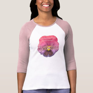Floral Grandmother Mothers Day Gifts Shirt