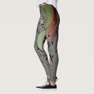 Floral Graphic Leggings