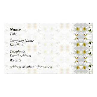 Floral Graphic Pattern Design. Business Card