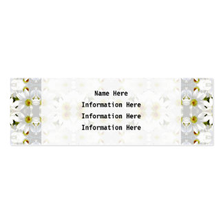 Floral Graphic Pattern Design. Business Cards