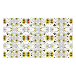 Floral Graphic Pattern Design. Business Card Template