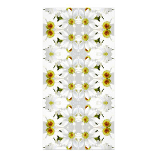 Floral Graphic Pattern Design. Photo Cards