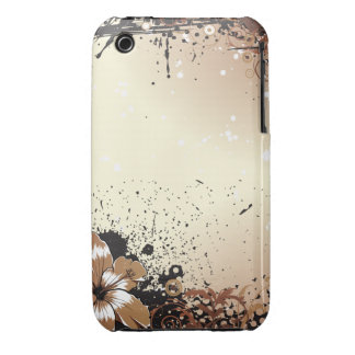 Floral Grunge Case-Mate iPhone 3 Cases