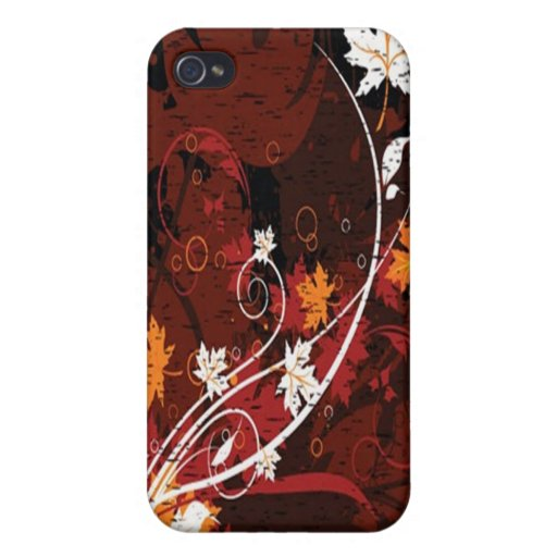 Floral Grunge Case iPhone 4/4S Covers