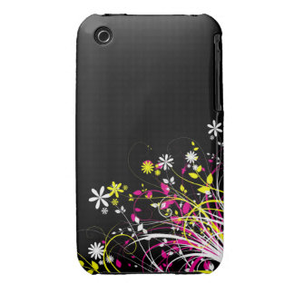 Floral Grunge Design Blackberry Curve case