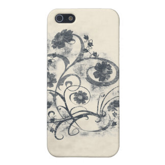 Floral Grunge Covers For iPhone 5