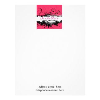 Floral Grunge Leaflet / Flyer