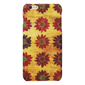 Floral Grunge Love Background With Dried Flowers iPhone 6 Plus Case