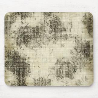 floral grunge mouse mats