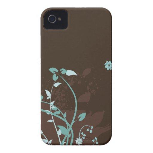 Floral Grunge Vector Pattern Blackberry Bold Case