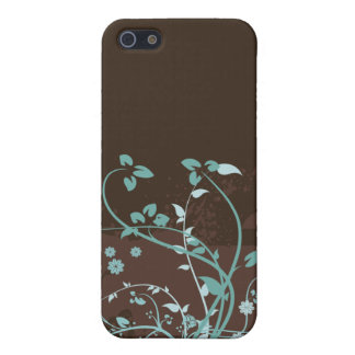 Floral Grunge Vector Pattern Case For iPhone 5