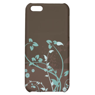 Floral Grunge Vector Pattern iPhone 5C Covers