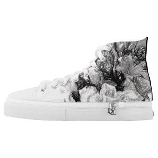Floral Gym Shoes