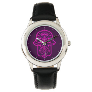 Floral Hamsa Watch