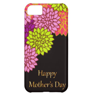 Floral Happy Mothers Day iPhone 5C Case
