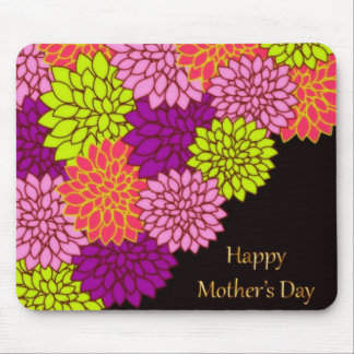 Floral Happy Mothers Day Mouse Mat