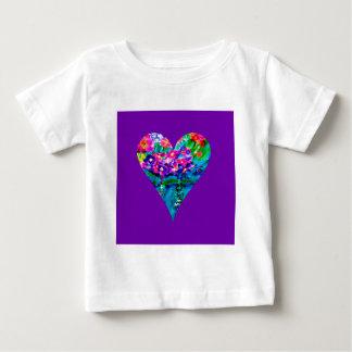 Floral Heart Designer Art Infant T-Shirt