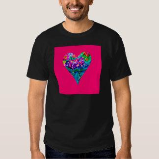 Floral Heart Designer Art Shirts