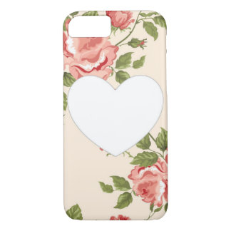 Floral Heart iPhone 7 Case