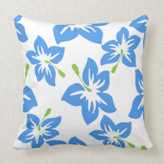 Floral Hibiscus Pattern Cushion
